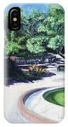 Emerald Fountain IPhone Case