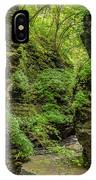 Emerald Gorge IPhone Case