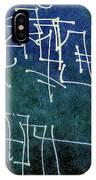 Emerald Green Wall Street Art IPhone Case