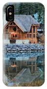 Emerald Lake Cilantro IPhone Case