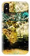Emerald Ripples IPhone Case