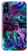 Emergence Of Feminine Emotions. IPhone Case