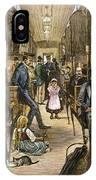 Emigrant Coach Car, 1886 IPhone Case