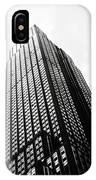 Empire State Building 1950s Bw IPhone Case