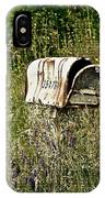 Empty Mailbox At 35476 IPhone Case
