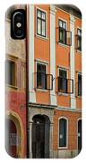 Empty Street In Slovenia IPhone Case