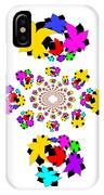 Emty Pretty Flowers IPhone Case