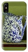 Enamelware - Pitcher IPhone Case