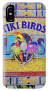 Enchanted Tiki Birds IPhone Case