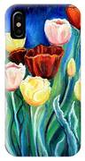 Enchanted Tulips IPhone Case