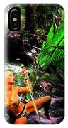 Encounter With A Dragon IPhone Case
