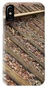 End Of The Tracks IPhone Case
