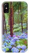 Endless Summer Blue Hydrangeas IPhone Case