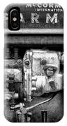 Engine - Farmall Tractor  IPhone Case
