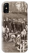 England: Hunters, C1905 IPhone Case