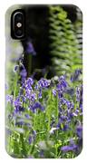 English Bluebell Wood IPhone Case