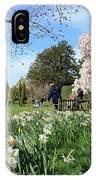 English Country Garden IPhone Case