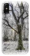 English Forest Snow Art IPhone Case