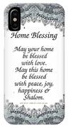 English Home Blessing IPhone Case