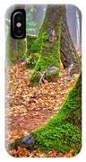 Enjoying The Forest Of Oak Run IPhone Case