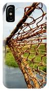 Enkhuizen Windmill And Nets IPhone Case