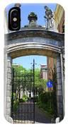 Entrance Of Bornhof IPhone Case