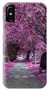 Entrance To A Cemetery IPhone Case