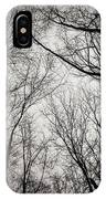Entwined In The Sky IPhone Case