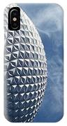Epcot Architecture IPhone Case