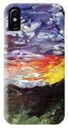 Erda Sunset IPhone Case