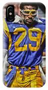 Eric Dickerson Los Angeles Rams Art IPhone Case
