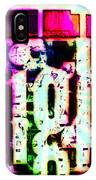 Eric Dolphy On A Jazz High IPhone Case