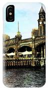 Erie Lakawanna Ferry And Train Station IPhone Case