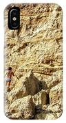 Eroding Graffiti Cliff 2 IPhone Case