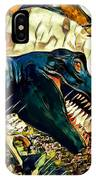Escape From Jurassic Park IPhone Case