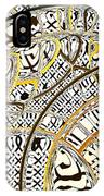 Escher Under The Lens IPhone Case