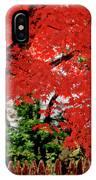 Essence Of Japanese Maple Tree IPhone Case