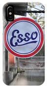 Esso Sign  IPhone Case