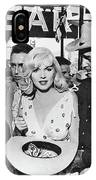 Estelle Winwood Marilyn Monroe Clark Gable Eli Wallach Montgomery Clift The Misfits Reno Nevada 1961 IPhone Case