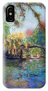 Estero River At Koreshan IPhone Case