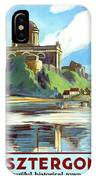 Esztergom, Beautiful City On Danube River, Hungary,  IPhone Case