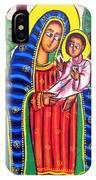 Ethiopian Mary And Jesus IPhone Case
