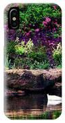 Ethreal Beauty At The Azalea Pond IPhone Case