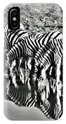 Etosha Pan Reflections IPhone Case