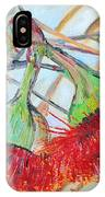 Eucalyptus Flowers IPhone Case