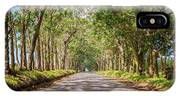Eucalyptus Tree Tunnel - Kauai Hawaii IPhone X Case