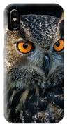 Eurasian Eagle Owl IPhone Case