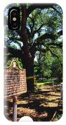 Evangeline Oak St Martinville Louisiana IPhone Case