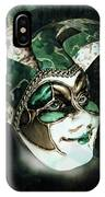 Even With Her Mask, Her Eyes Give Her Away IPhone Case