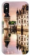 Evening At Chenonceau Castle IPhone Case